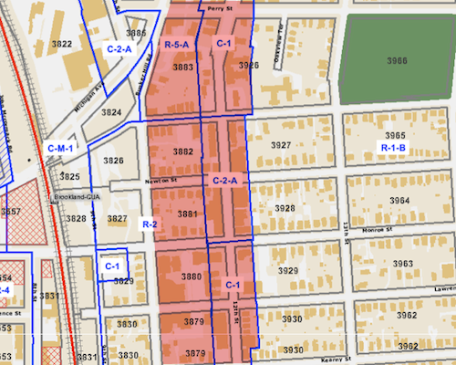 Proposed  Brookland CDC / Kilmurry Zoning Changes