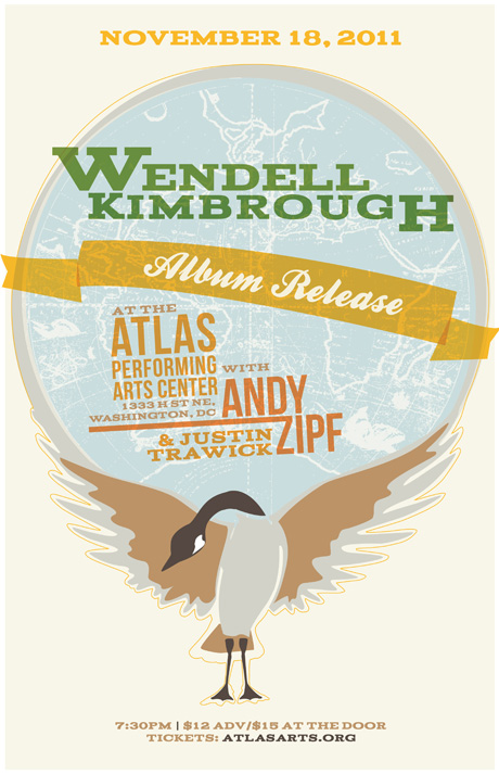 Wendell Kimbrough, Album Release Flyer