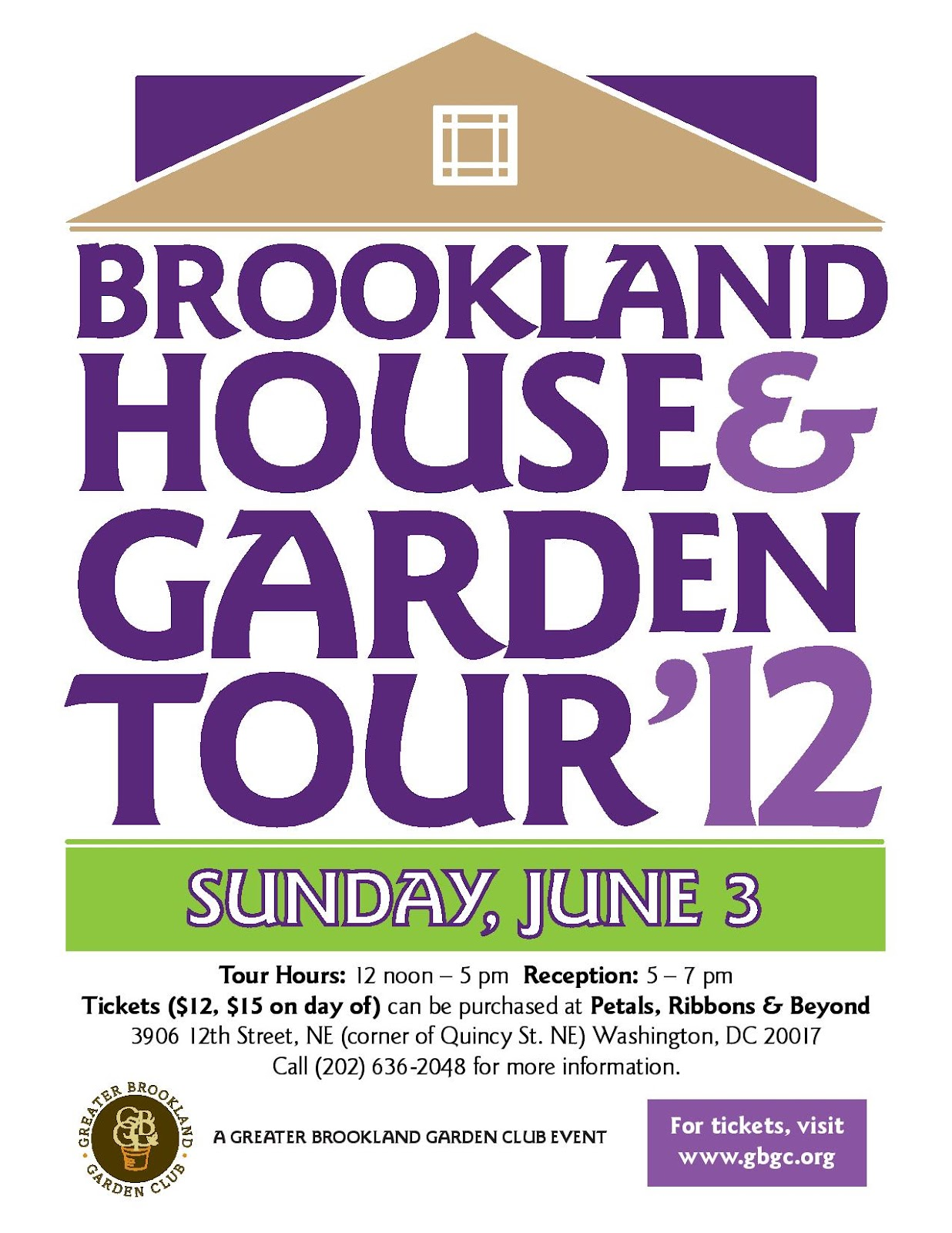 Brookland Home and Garden Tour 2012